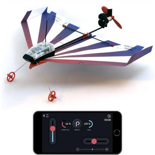 Avión De Papel Controlado Con El Celular Powerup A Pedido