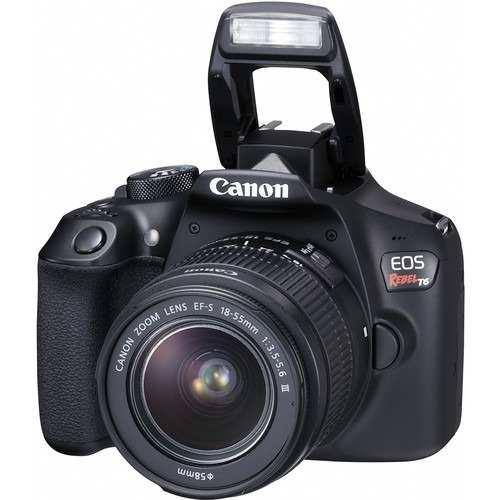 Cámara Canon Eos Rebel T6