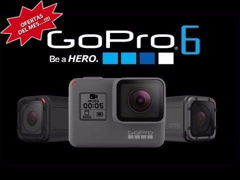 Gopro Hero 6 Black 100% Original Y Nuevo-tienda