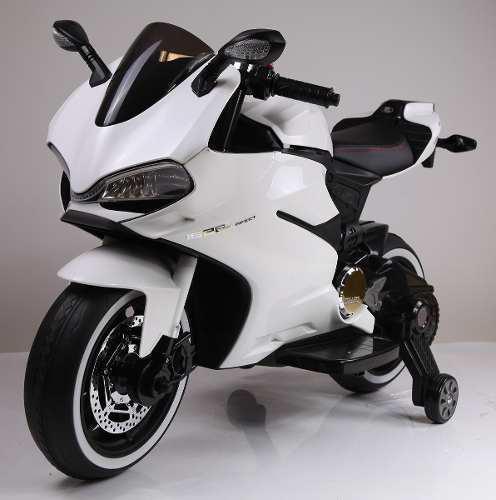 Moto A Batería Ducati Style Sx 100% Original