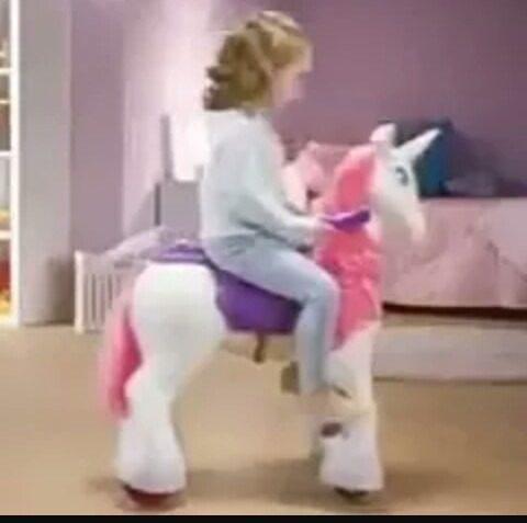 Unicornio Pony A Bateria Niñas Nuevo En Caja Envio