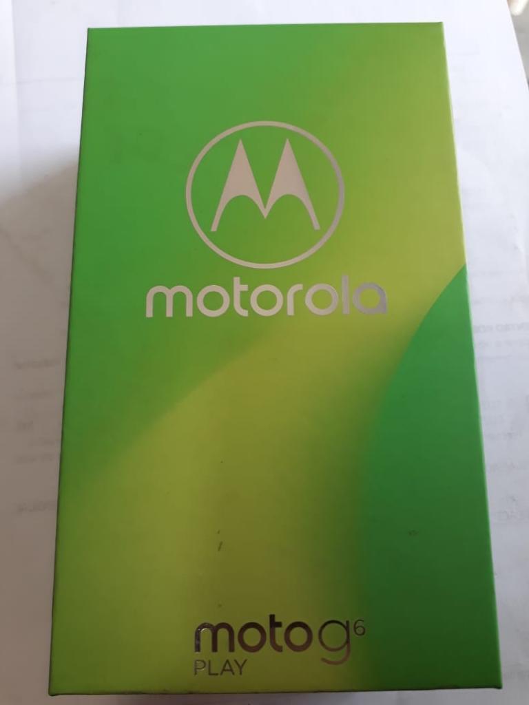 Vendo Moto G6 Play Nuevo Precio S/520