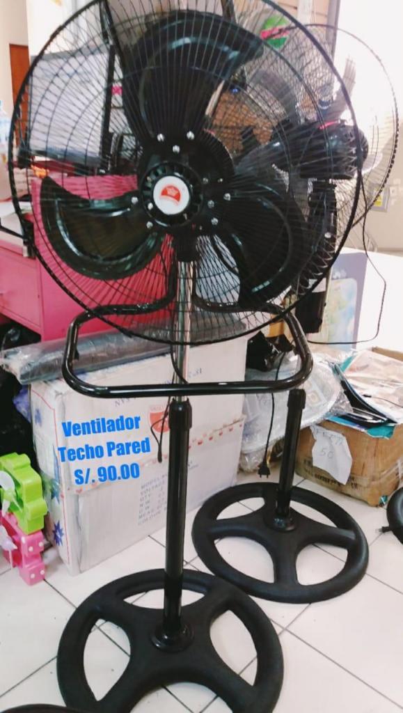Ventilador Techo Pared Pedestal 3 en 1