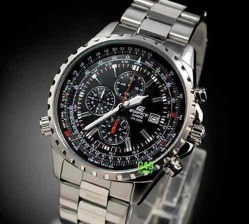 Reloj Casio Edifice Ef-527 Nuevo Original Garantia