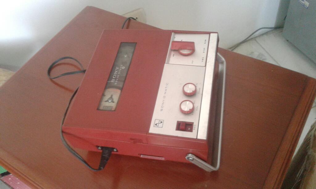 Antigua Grabadora de Cinta Sony Vintage