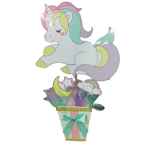 Decoracion Unicornio 42 Cm Navidad Regalo Amor Hogar Decora