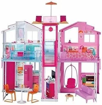 Super Casa De Campo Barbie Mattel Nueva Sellada Original !!!