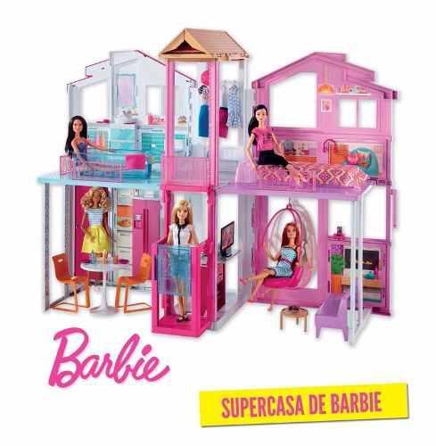 Super Casa De Campo Barbie Mattel Original 100% Zevallos