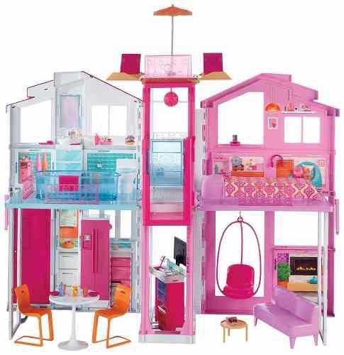 Super Casa De Campo Barbie Mattel Original !!!!!