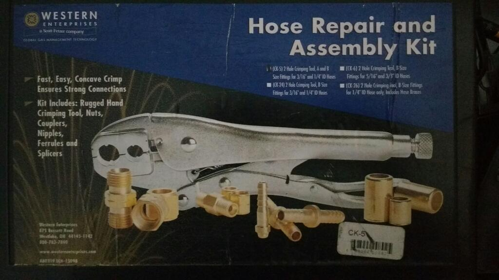 Kit de Reparación Y Ensamble de Manguera