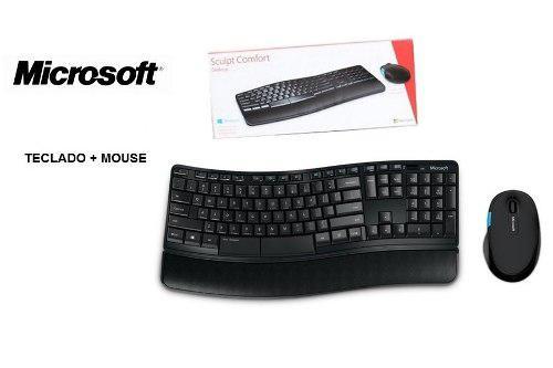 Kit Teclado Y Mouse Inalámbrico Microsoft Sculpt Comfort C