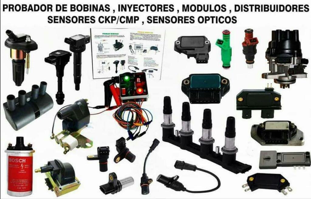 Probador de Bobinas,modulos,sensores