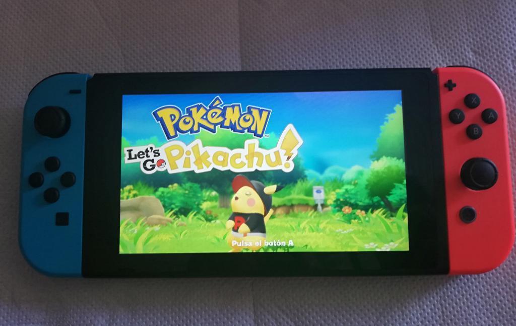 Vendo Nintendo Switch Modo Portátil