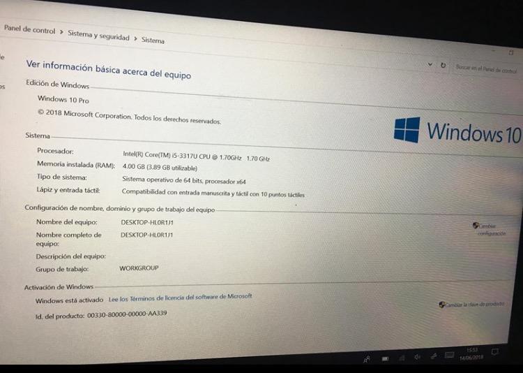 Tablet Microsoft, Surface Pro I5