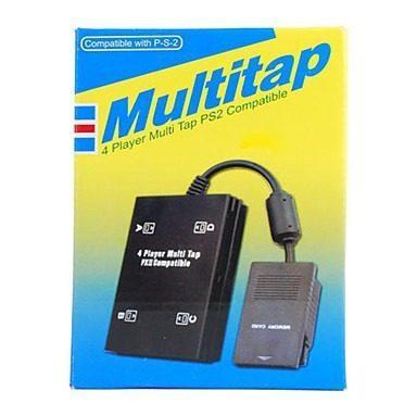 Multi Tap Adaptador Para 4 Mandos Para Sony Playstation
