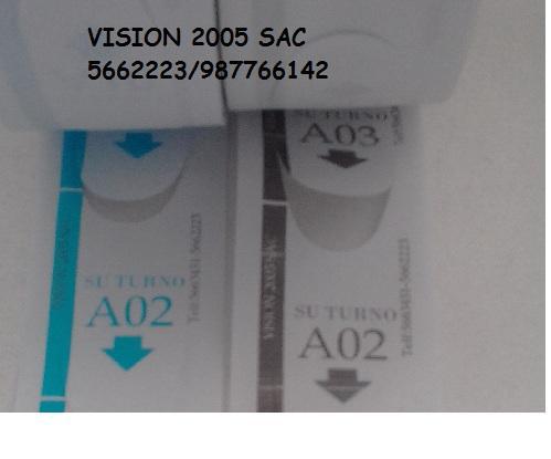 Contometros de tickets de 02 digitos en Lima