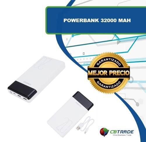 Power Bank 32000 Mah Para Celulares Y Tablets (precio Mayor)