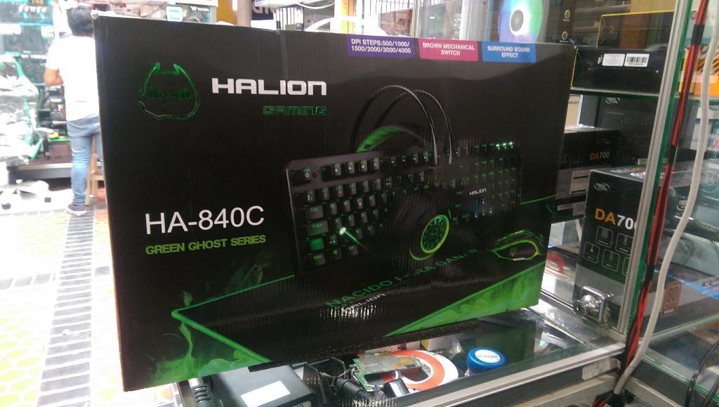 Combo Gamer, Teclado Mecanico Audífonos