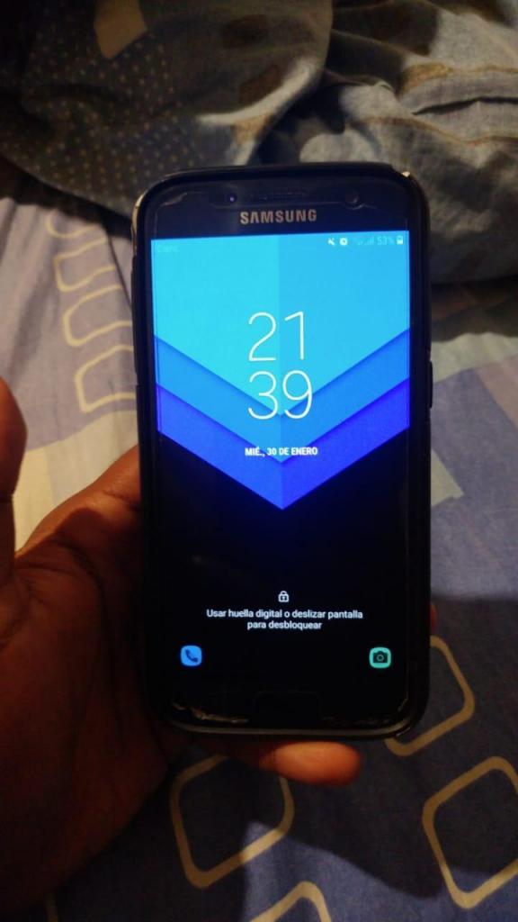 Samsung Galaxy S7 32GB 4GB RAM 12mpx libre de operador
