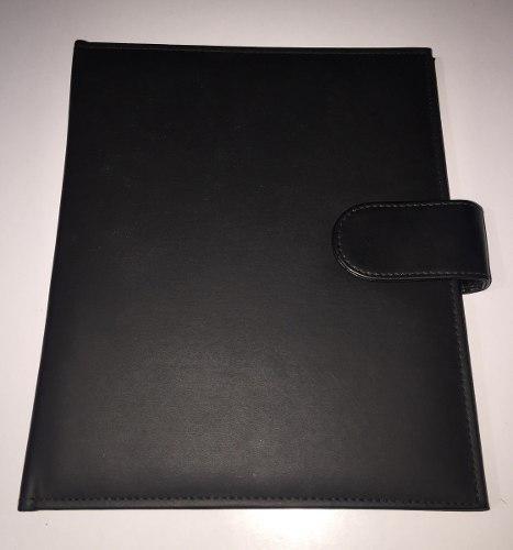 A Pedido Pioner Archivador 2 Anillos A5 Biocuero Gj Leather