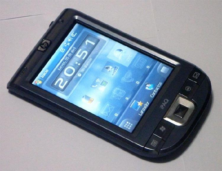 Agenda HP iPaq 116 con cargador, operativo. Palm PDA Pocket