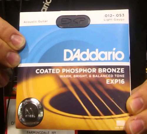 Cuerdas D'addario Exp16 Calibre 12 - 53