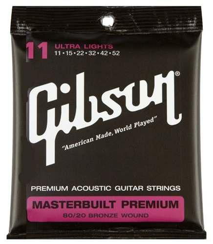 Cuerdas Gibson Para Guitarra Acustica O Electroacustica