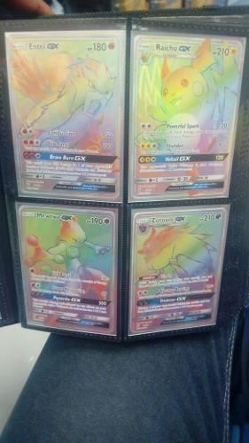 Lote De 400 Cartas De Pokemon, Incluyendo Holográficas Y Gx