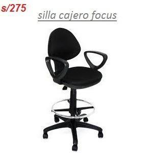 Silla Giratoria De Oficina Cajero Focus