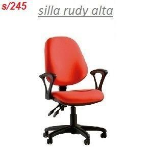 Silla Giratoria De Oficina Rudy Alta