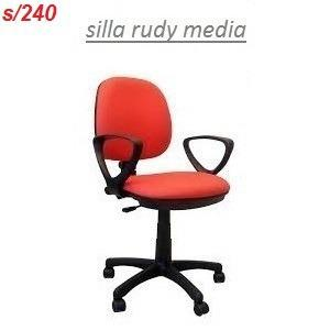 Silla Giratoria De Oficina Rudy Media