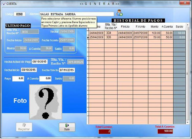 Sistema Software para Administración de Gimnasios