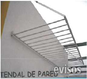 Tendal de ropa para pared 100% aluminio en Lima
