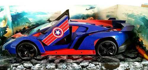 Auto A Control Remoto Capitán América