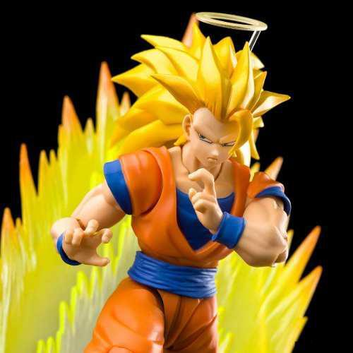 Goku Saiya 3 Bandai S.h Figuarts Más Efecto Original Vr, Jp