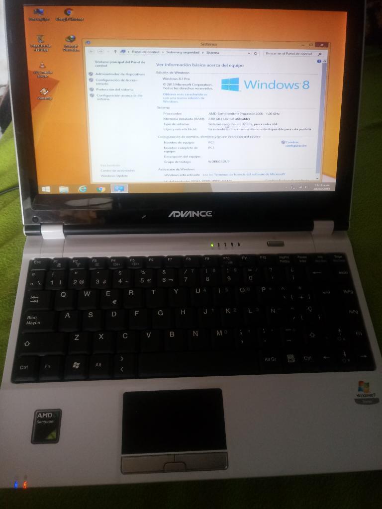 Laptop Advance An Estado 9 de 10