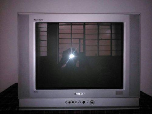 Remato Tv Samsung 21'' Con Control Remoto Original