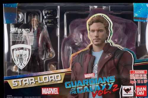 Star Lord Sh Figuarts Marvel Guardianes De La Galaxia Stock