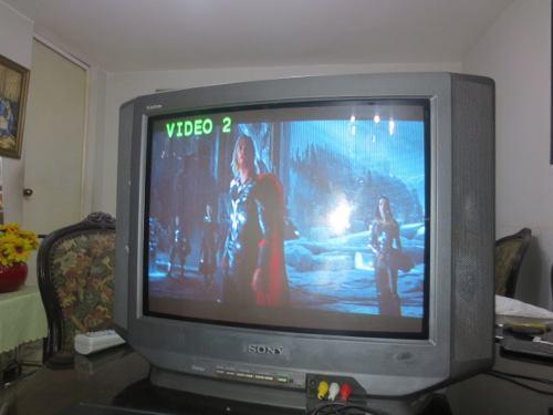 Televisión Sony Triniton 21