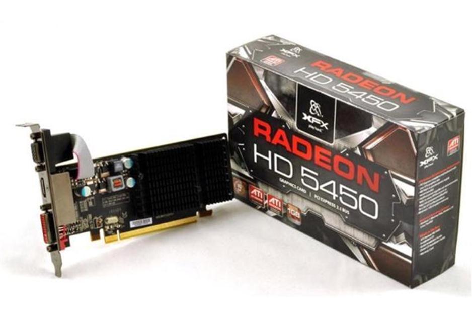 XFX Radeon HD  Tarjeta gráfica 650 MHz Core 1 GB SDDR3