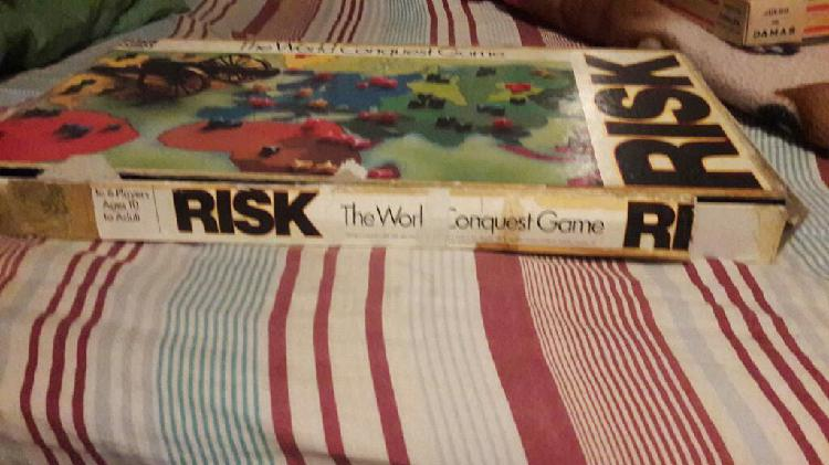Antiguo Juego de Mesa Risk