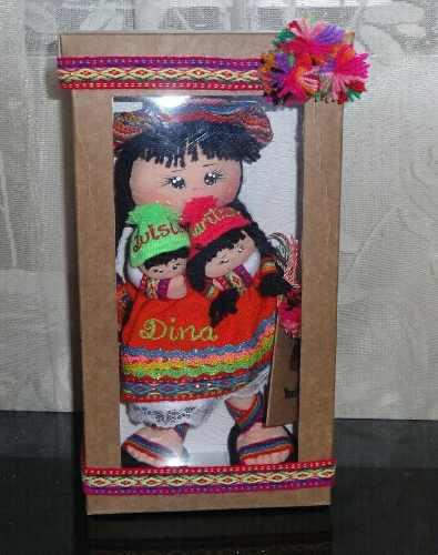 Regalos Personalizados Muñequita Peruana Artesanía