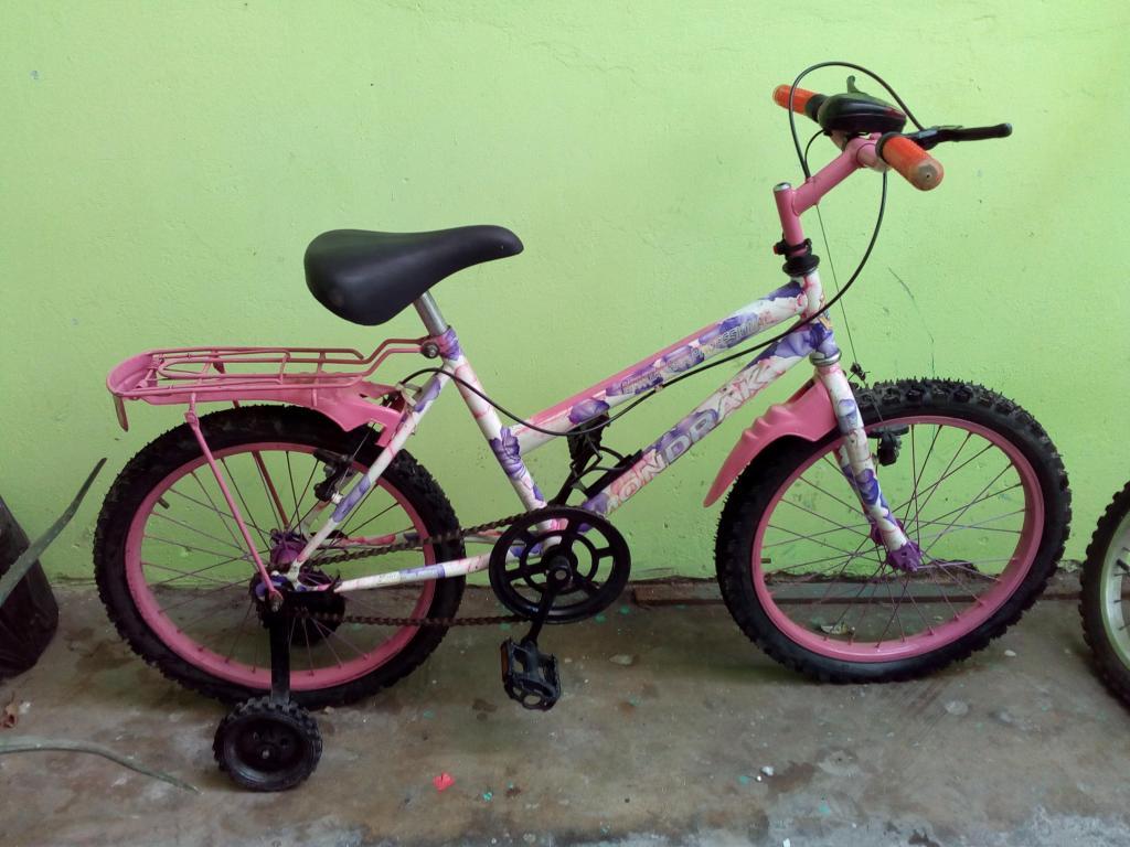 Bicicleta para Niña Marca Monark Aro 20