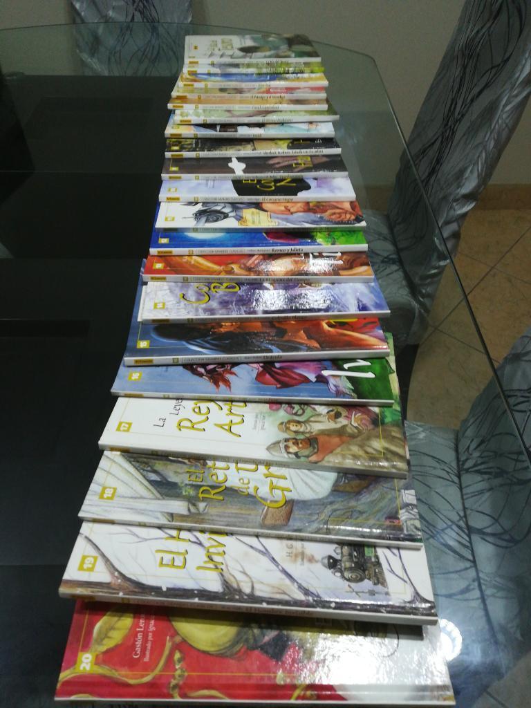 Colección de Cuentos 20 Libros 200 Soles