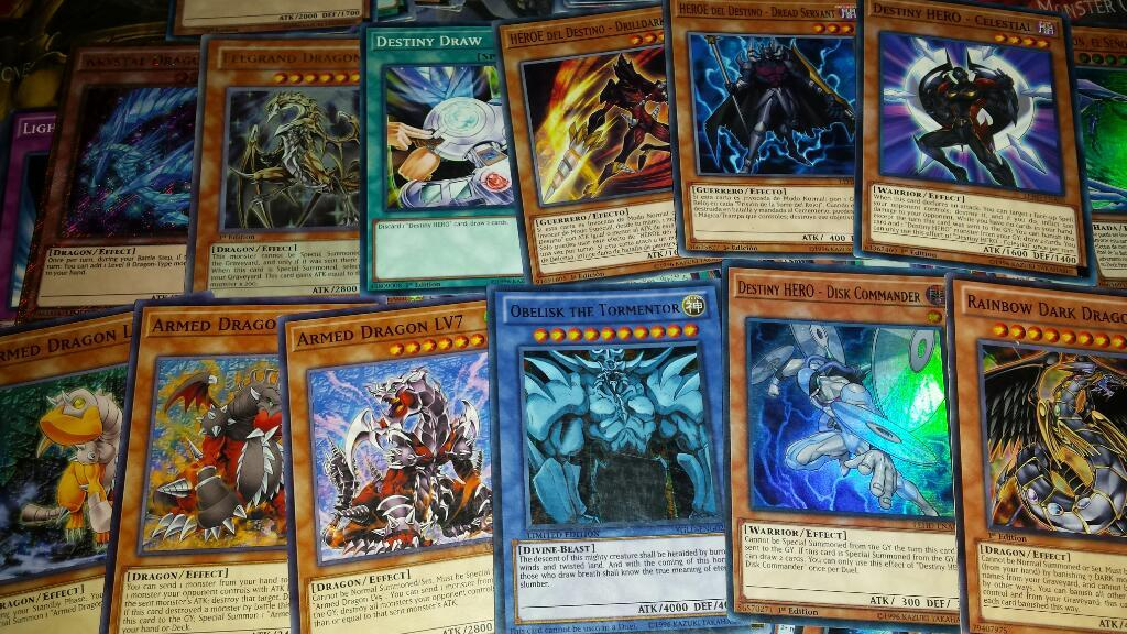 Lotes Cartas Originales Yugioh Yu Gi Oh