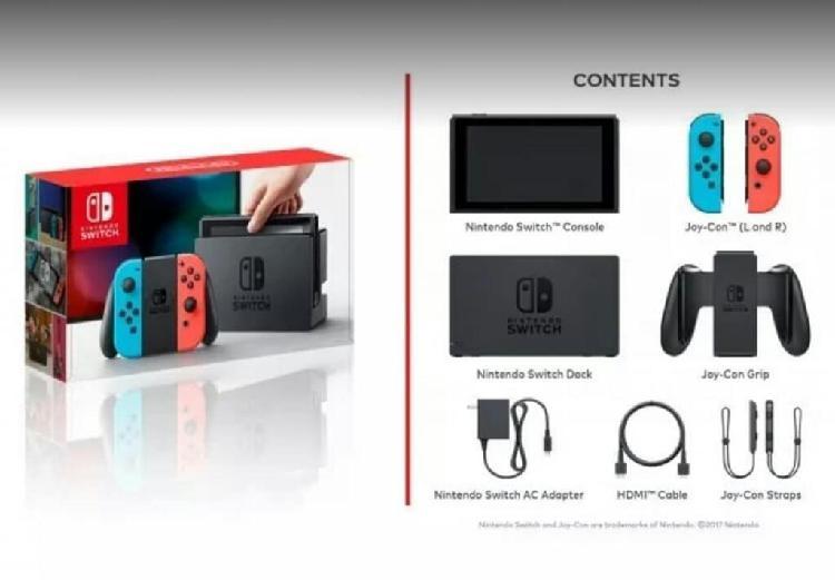 Nintendo Switch - Consola + Accesorios