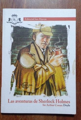 Plan lector Las aventuras de sherlock holmes, editorial san