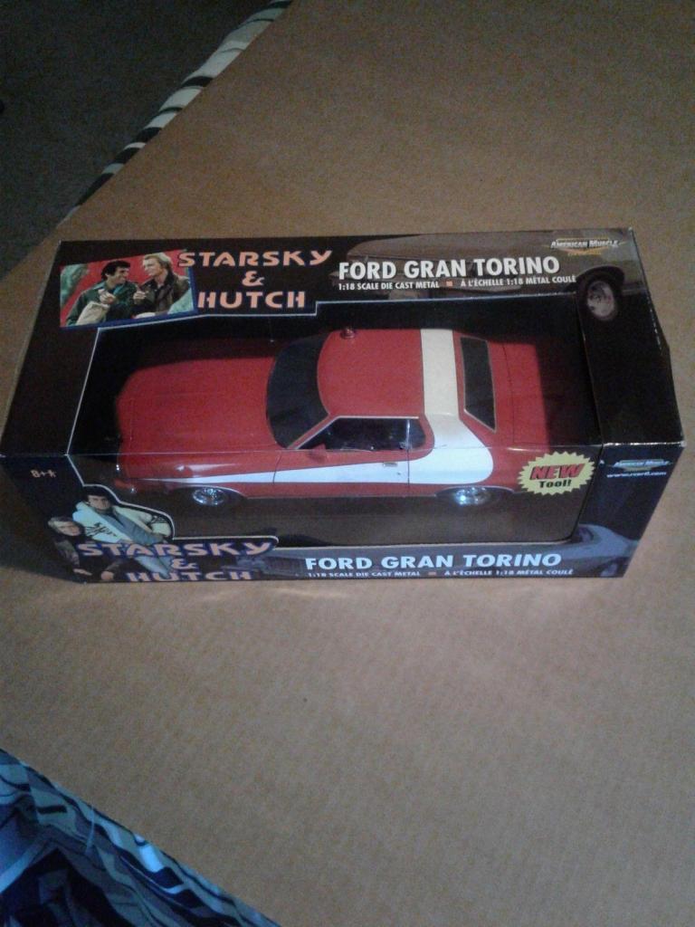 Starsky Hutch Ford Gran Torino  Nuevo en Caja 1/18