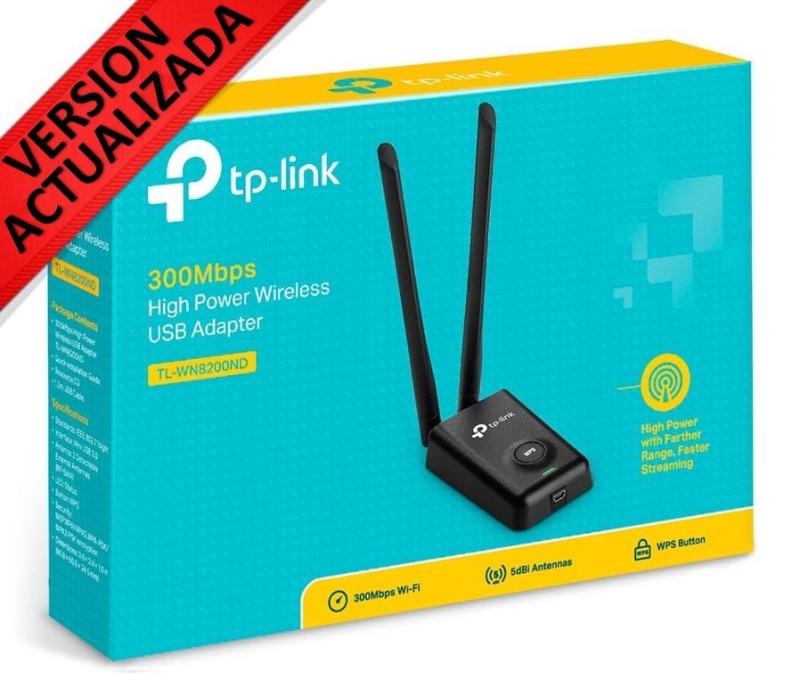 Usb Wifi Tp Link De Alta Potencia A 300mbps Tlwnnd