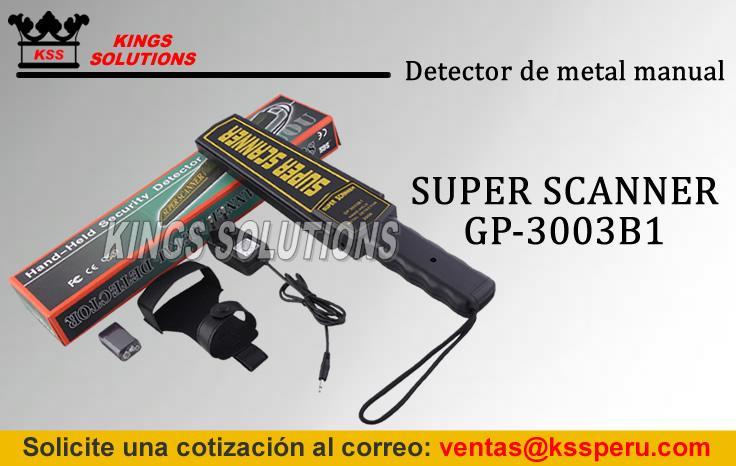 Detector de metales manuales:: Super Scanner:: Para